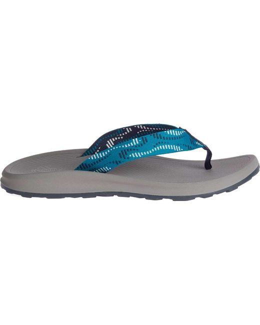 3f0e545f870a ... Chaco - Blue Playa Pro Web Vegan Flip Flop for Men - Lyst ...