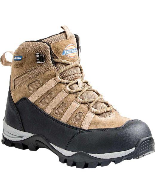 "Dickies - Brown Escape 6"" Steel Toe Hiker Work Boot for Men - Lyst"