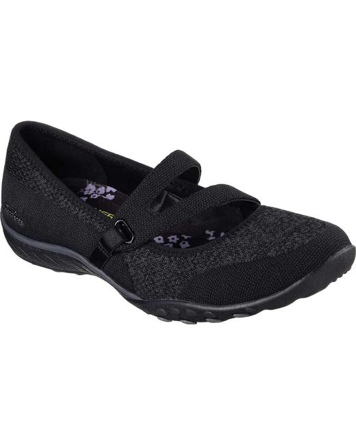 Skechers - Black Relaxed Fit Breathe Easy Lucky Lady Mary Jane - Lyst ... c78c09845ad