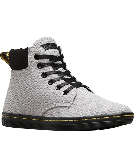 Dr. Martens - Gray Maelly Padded Collar Boot - Lyst