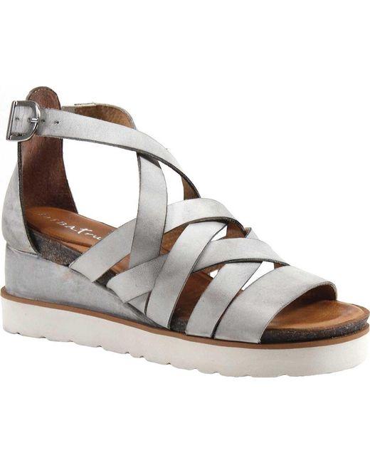 5c5d9802c26798 Lyst - Diba True Good For Me Strappy Sandal in White