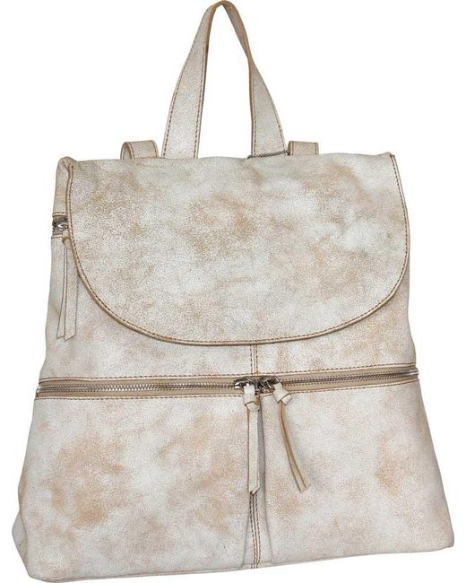 Nino Bossi - White Eilish Leather Backpack - Lyst
