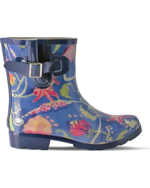 Nomad - Blue Droplet Iii Rain Boot - Lyst