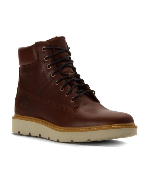 "Timberland | Brown Bramhall 6"" Lace-up Waterproof Boot 