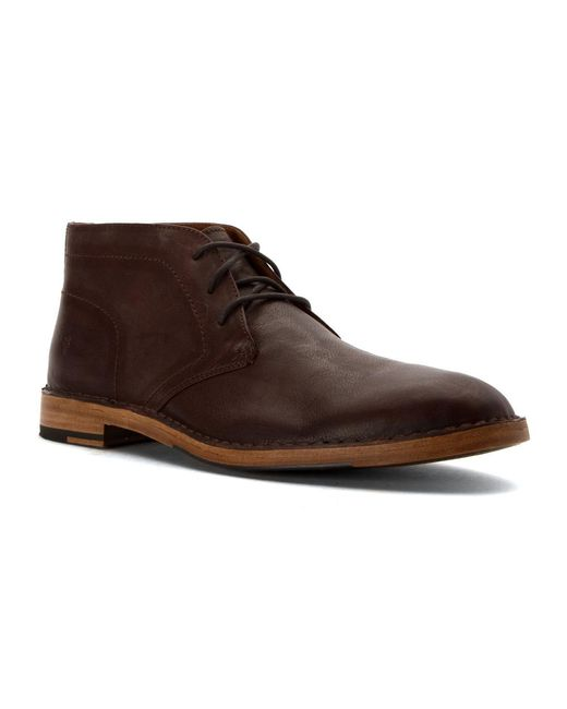 Frye | Brown Jack Monk Chukka for Men | Lyst