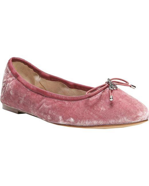 Sam Edelman - Pink Felicia Ballet Flat - Lyst