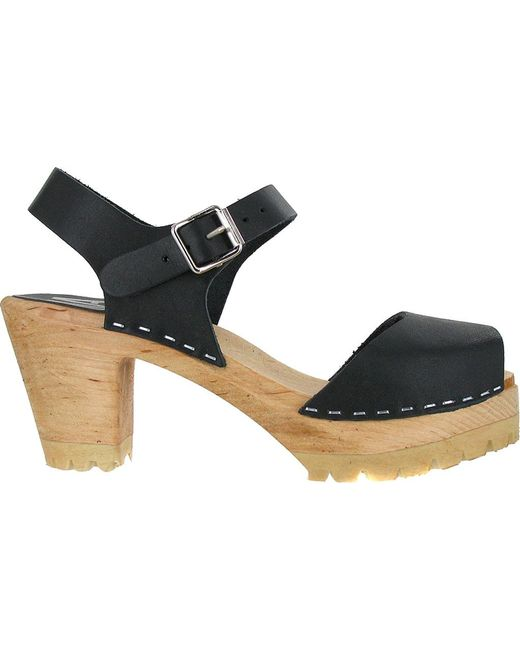 7d61a440d12 Lyst - MIA Greta Ankle Strap Sandal in Black - Save 10%