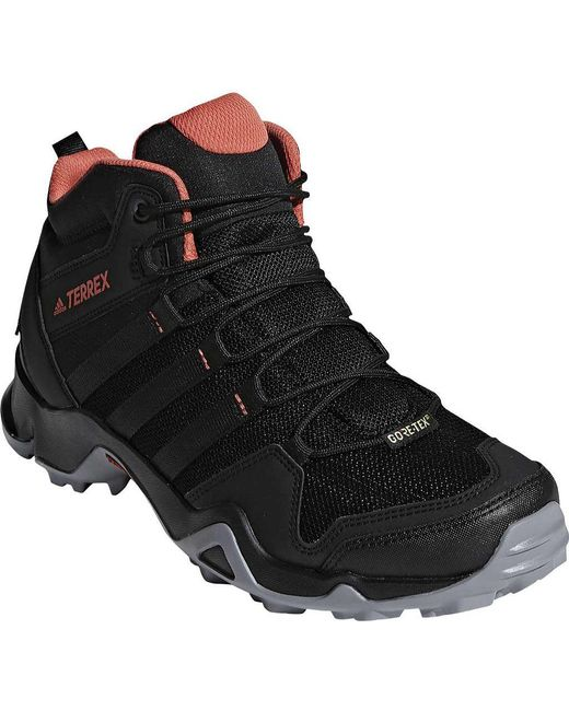 timeless design 5413b a50ce Adidas - Black Terrex Ax 2.0 R Mid Gore-tex Hiking Shoe for Men ...
