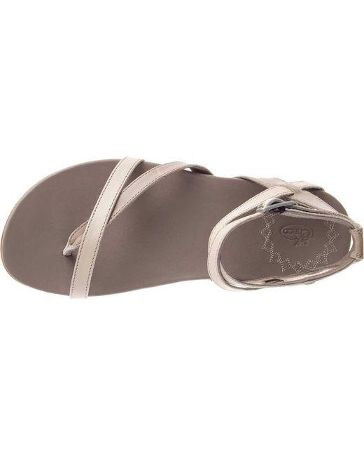 6a4df3eab2d3 ... Lyst Chaco - Brown Juniper (tan) Women s Sandals ...
