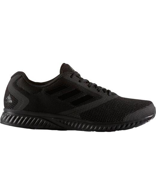lyst adidas edge rc scarpa da corsa in nero per gli uomini.