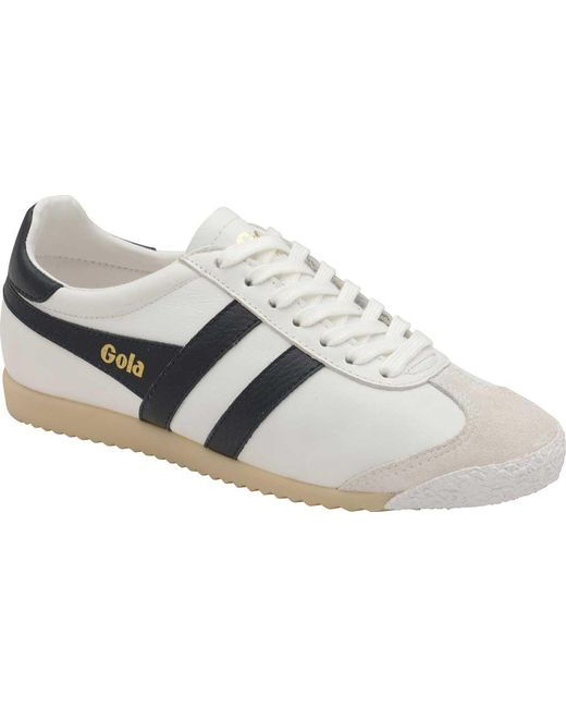 best price low cost various colors Women's White Harrier 50 Leather Sneaker