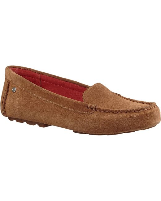 631a5c9d81e Ugg - Brown Milana Loafer - Lyst ...