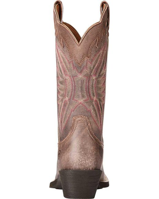 be9bc818589f ... Ariat - Brown Round Up Outfitter Cowgirl Boot - Lyst ...