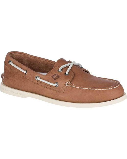 Sperry Top-Sider Authentic Original 2-Eye Daytona Boat Shoe(Men's) -Black/Grey Leather Sale Clearance Store Shipping Outlet Store Online Sale Visit New Discount Inexpensive 100% Authentic Cheap Online 86QjIsSVR