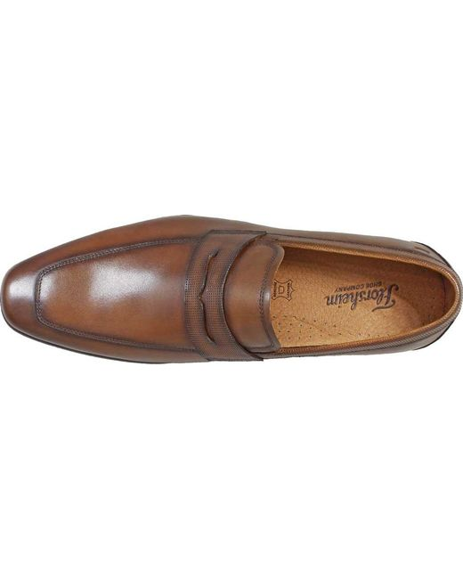 d6817568364 ... Florsheim - Brown Postino Moc Toe Penny Loafer for Men - Lyst ...