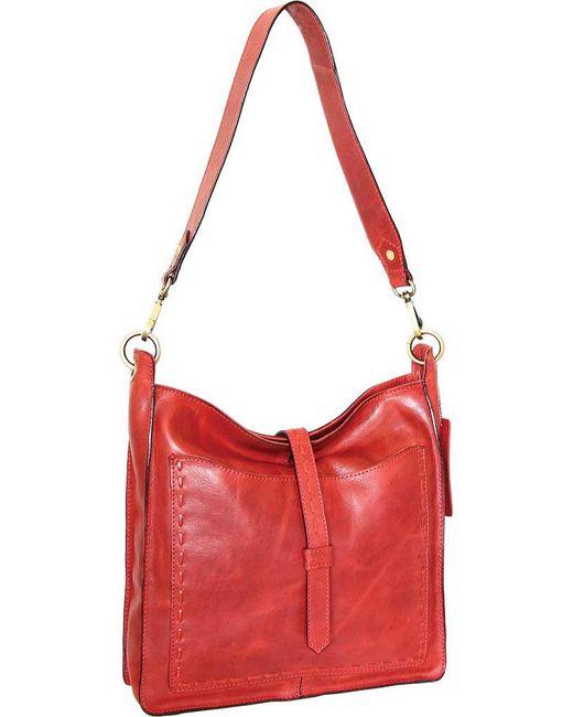 Nino Bossi - Red Gilda Shoulder Bag - Lyst ... 8f98e05ae4f76