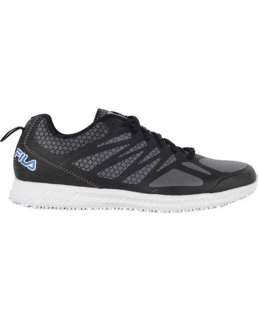 dd30e18484e ... Fila - Blue Memory Bouncelight Slip-resistant Jogger Sneaker for Men -  Lyst ...