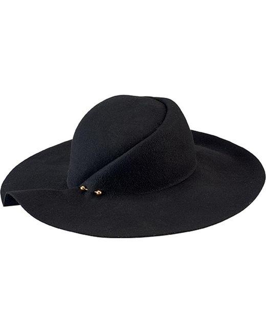 San Diego Hat Company | Black Pleated Crown Floppy Hat Wfh8057 | Lyst