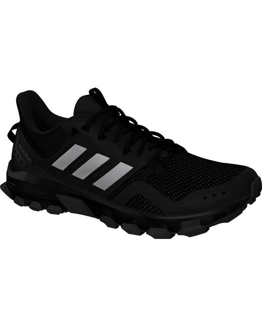 b504250b2 Adidas - Gray Rockadia Trail Running Shoe for Men - Lyst ...
