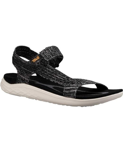 a723f099e3d7 Teva - Black Terra Float 2 Knit Universal Sandal for Men - Lyst ...