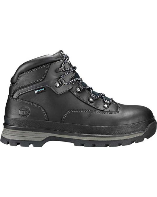 09020e745a5 Lyst - Timberland Euro Hiker Alloy Toe Work Boot in Black for Men ...