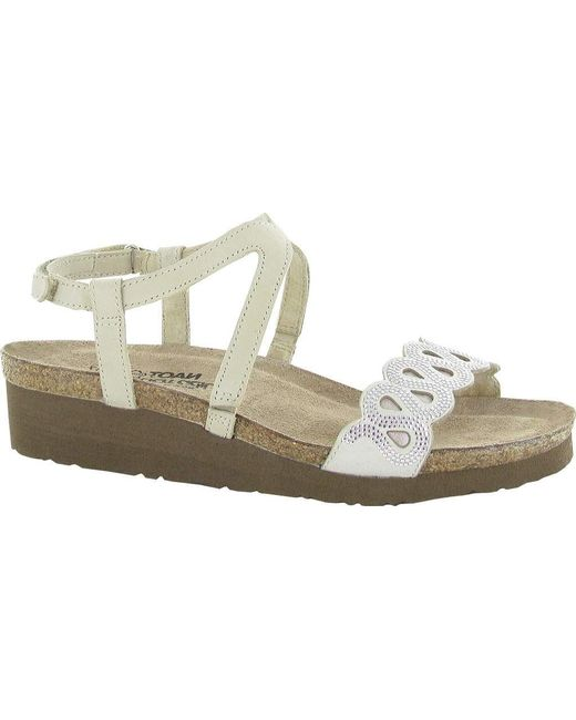 c3052585078 Naot - Natural Addie Ankle Strap Sandal - Lyst ...