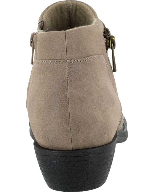 118ece9bb398 ... Easy Street - Brown Sable Bootie - Lyst ...