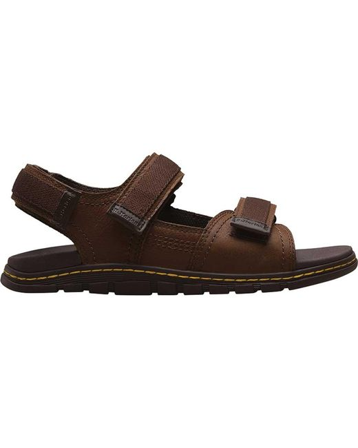67362eb17 ... Dr. Martens - Brown Athens Strappy Sandal for Men - Lyst ...
