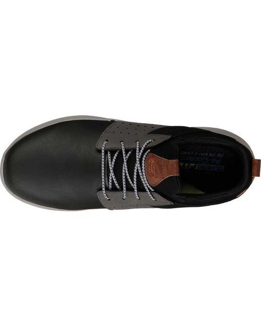 4420d5642de9 ... Skechers - Black Delson Axton Sneaker for Men - Lyst ...