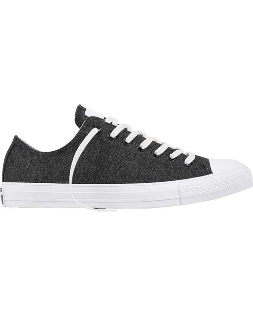 Converse - Black Chuck Taylor All Star Terry Sneaker for Men - Lyst ... 25ffb43b0