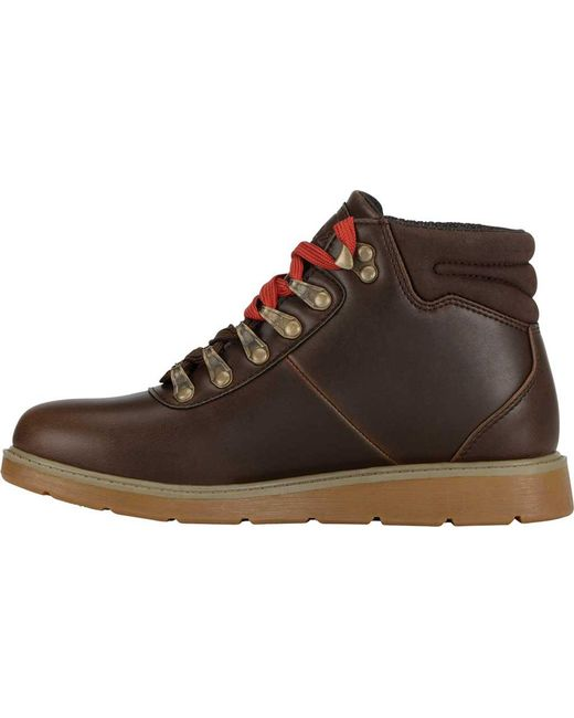 4a2b1571fd19 ... Lugz - Brown Theta Wedge Boot for Men - Lyst ...
