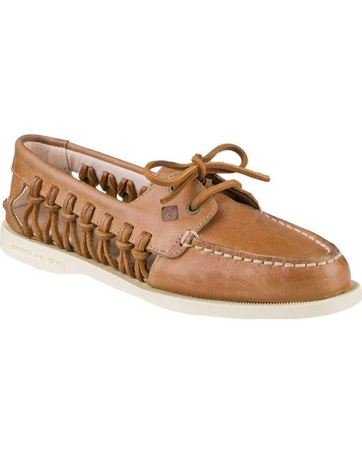 Sperry Top-Sider - Brown Authentic Original Haven Boat Shoe - Lyst