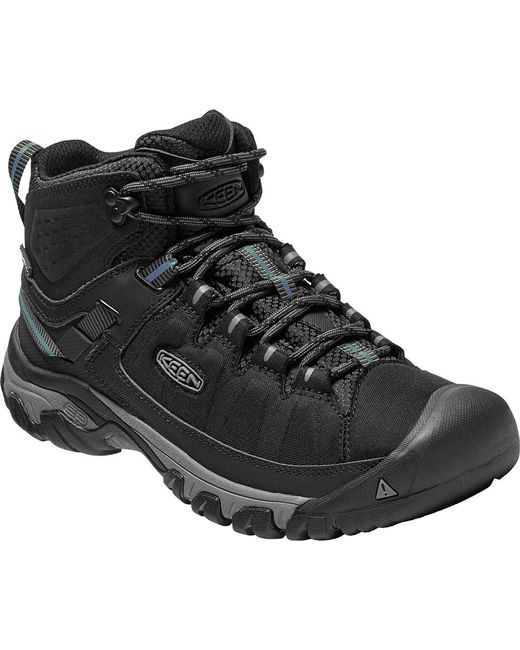 Keen | Black Targhee Explorer Mid Waterproof Boot for Men | Lyst ...