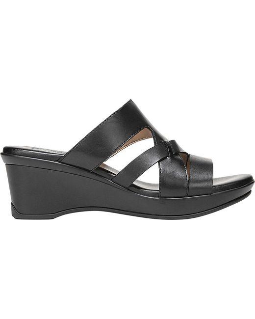 168369466d53 Lyst - Naturalizer Vivy Wedge Sandal in Black - Save 24%