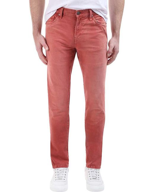 fe3cf6f0 J Brand - Red Tyler Slim Fit Thrashed Dimmet for Men - Lyst ...