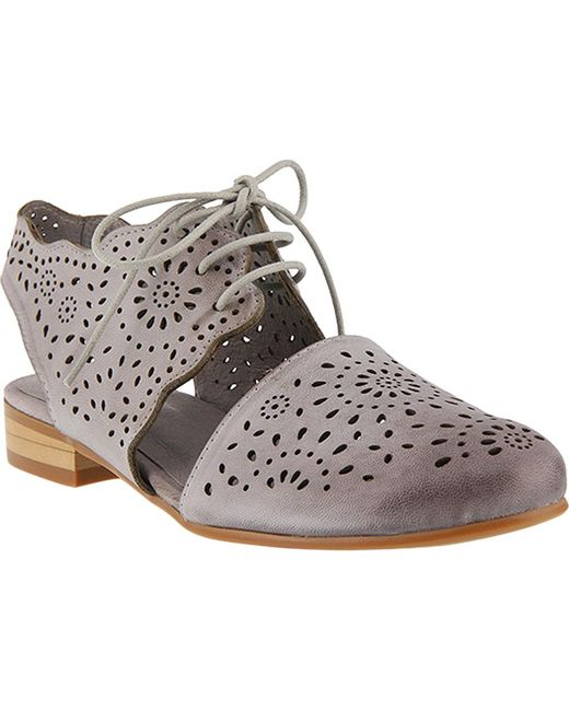 Spring Step - Gray Neroh Closed Toe Sandal - Lyst