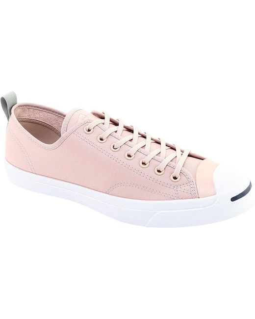7e8a527dc847 Converse - Pink Jack Purcell Jack Ox Micro Ripstop Sneaker - Lyst ...