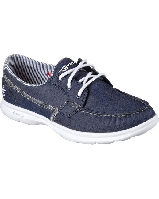 Skechers Go Step Indigo Women S Boat Shoes