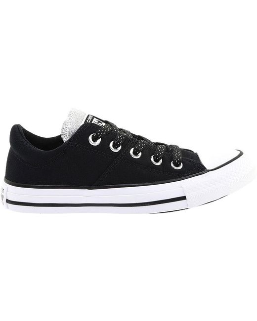 11bc91c8f05c ... Converse - Black Chuck Taylor All Star Madison Low - Lyst ...