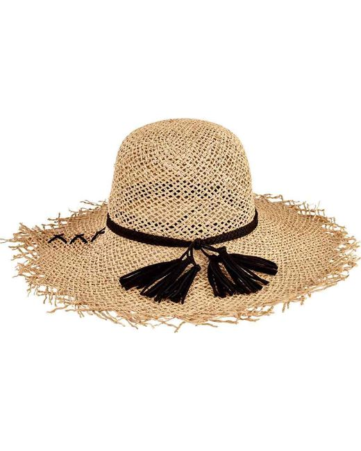 San Diego Hat Company - Natural Open Weave Seagrass Floppy Hat Sgf2016 - Lyst