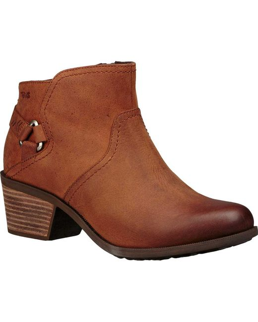 Teva - Brown Foxy Wp Harness Boot - Lyst
