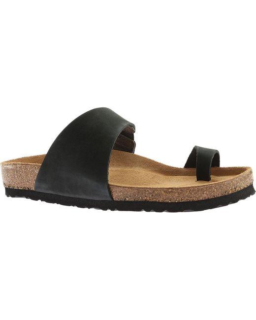 Naot - Black Santa Fe Toe Loop Sandal - Lyst ...