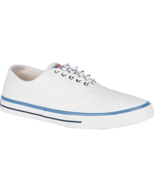 Sperry Top-Sider - White Captains Cvo Nautical Sneaker for Men - Lyst ...