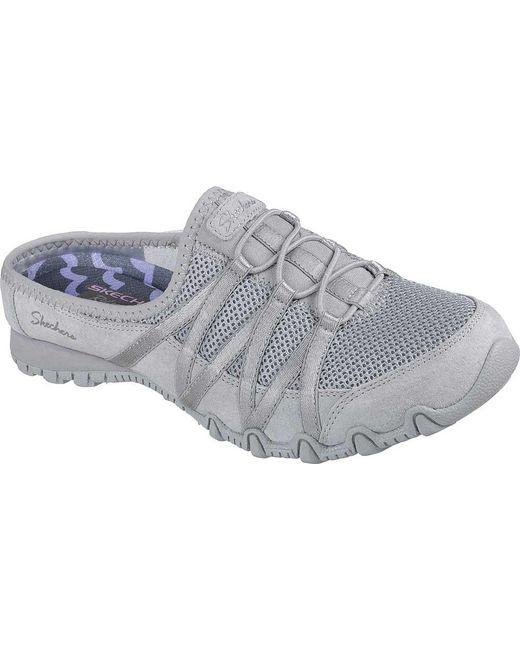 Skechers - Gray Relaxed Fit Bikers Cuddy Sneaker Clog - Lyst
