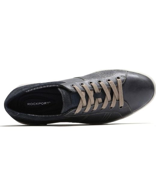 54f11d6665fa70 ... Rockport - Gray Colle Tie Sneaker for Men - Lyst ...