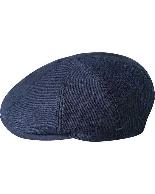 Lyst - Bailey of Hollywood Sobel Flat Cap 90112 in Blue for Men 552c099a3af