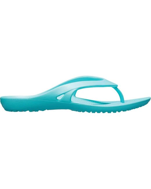 2e369da6ccf18 ... Crocs™ - Blue Kadee Ii Flip Flop Sandal - Lyst ...