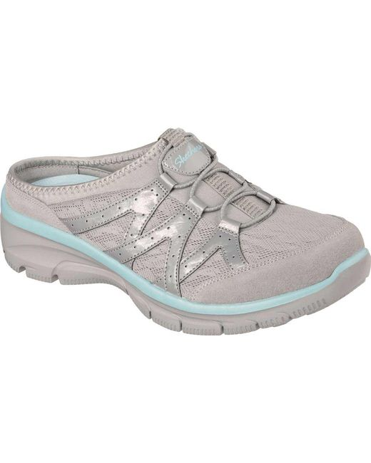 Skechers - Gray Relaxed Fit Easy Going Repute Clog Sneaker - Lyst ... 46a629e61b02