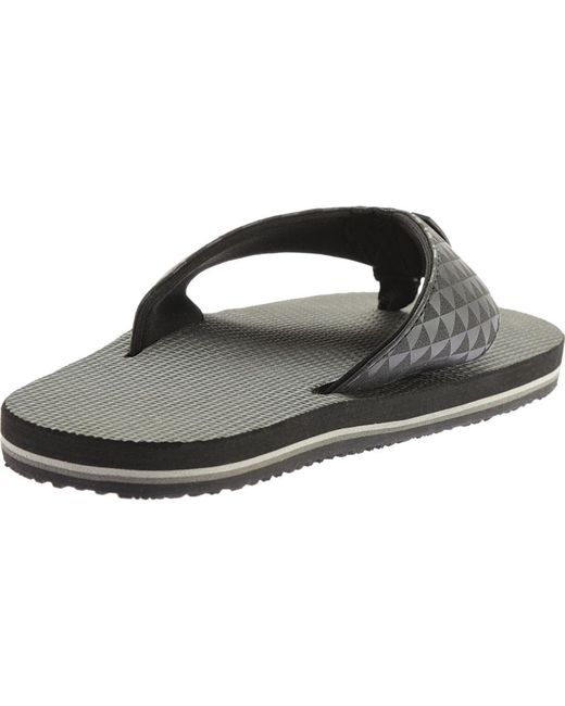 0eef15ae3abd ... Scott Hawaii - Black Koanui Thong Sandal for Men - Lyst ...