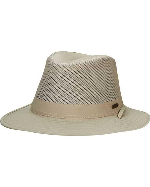 aa860710 Stetson Stc197 Safari Hat in Natural for Men - Lyst